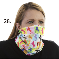 Face Mask Buff Face Covering-Boxed Horses