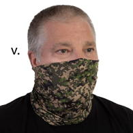 Face Mask Buff Face Covering-Digital Camo