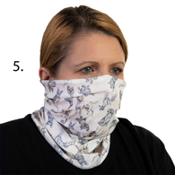 Face Mask Buff Face Covering-Dog Kennel