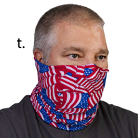 Face Mask Buff Face Covering-Flags