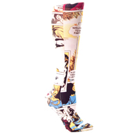 Womens Compression Sock-Comic