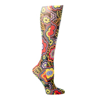 Womens Compression Sock-Black Vogue