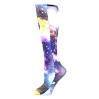 Womens Compression Sock-Multi Planets
