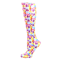 Womens Compression Sock-Tiny Owls