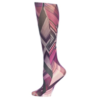 Womens Compression Sock-Purple Angelz