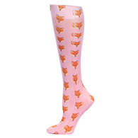 Womens Compression Sock-Foxes