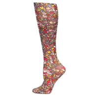 Womens Compression Sock-Christmas Celebration