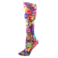 Womens Compression Sock-Bouquet