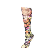Womens Compression Sock-Halloween Pumpkin