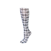 Womens Compression Sock-Damask Harlequin
