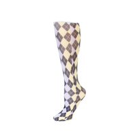 Womens Compression Sock-Pastel Abstract