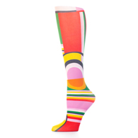 Womens Compression Sock-Art Deco
