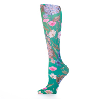 Womens Compression Sock-Green Marona