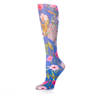 Womens Compression Sock-Blue Marona