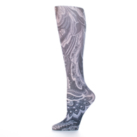 Womens Compression Sock-Black Calypso