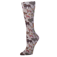Womens Compression Sock-Dog Show
