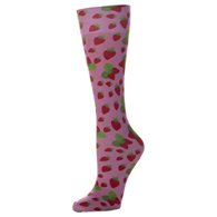 Womens Compression Sock-Strawberry Jam