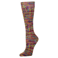 Womens Compression Sock-Color Grid