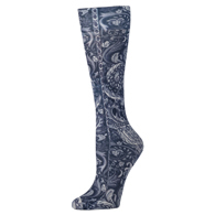 Womens Compression Sock-Navy Versache