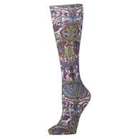 Womens Compression Sock-Purple Versache