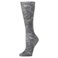 Womens Compression Sock-Nude Morning Lace