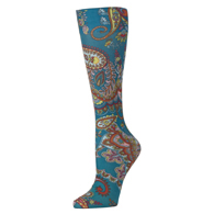 Womens Compression Sock-Paisley Dance