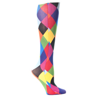 Womens Compression Sock-Harlequin