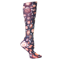Womens Compression Sock-Chocolates