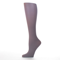 Womens Compression Sock-Grey Solid