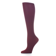 Womens Compression Sock-Purple Solid