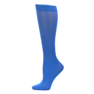 Womens Compression Sock-Royal Solid