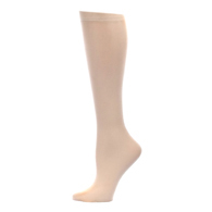 Womens Compression Sock-Skin Solid