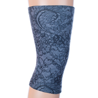 Womens Light/Moderate Knee Support-Midnight Lace