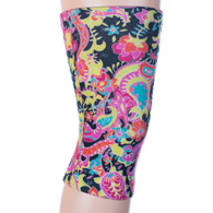Womens Light/Moderate Knee Support-Vintage Paisley