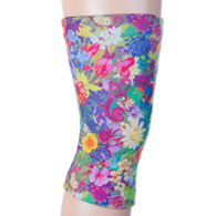 Womens Light/Moderate Knee Support-Bouquet