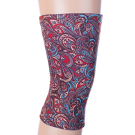Womens Light/Moderate Knee Support-Fall Paisley Brown