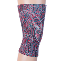 Womens Light/Moderate Knee Support-Mauve Paisley