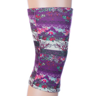 Womens Light/Moderate Knee Support-Moulin Rouge