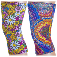 Light/Moderate Knee Support Set-Austin Powers & Colorful Daisies