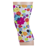 Womens Light/Moderate Knee Support-Lucky Hearts