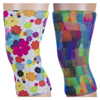 Light/Moderate Knee Support Set-Lucky Hearts & Watercolor Tiles