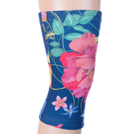 Womens Light/Moderate Knee Support-Navy Paradise