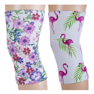 Light/Moderate Knee Support Set-Ode & White Flamingos