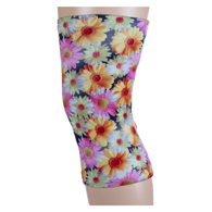Womens Light/Moderate Knee Support-Daisies