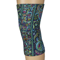 Womens Light/Moderate Knee Support-Bright Versache