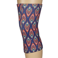 Womens Light/Moderate Knee Support-Fall Peacock