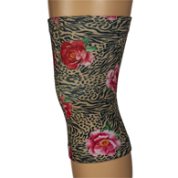 Womens Light/Moderate Knee Support-Tiger Rose