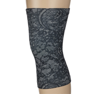 Light/Moderate Knee Support-Nude Morning Lace