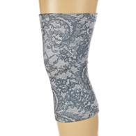 Light/Moderate Knee Support-Grey Morning Lace