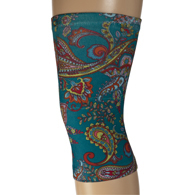 Womens Light/Moderate Knee Support-Paisley Dance
